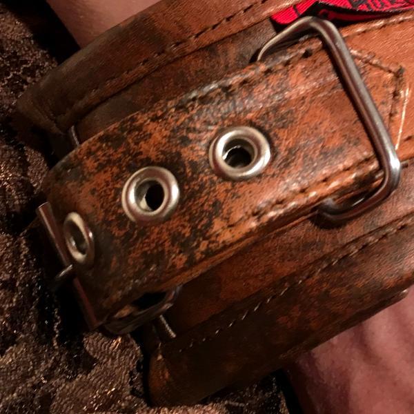 """""""Wotan"""" - Fesselmanschetten, antique-braun"""