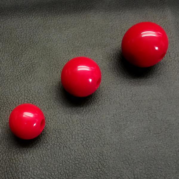 Silikonball einzeln, rot