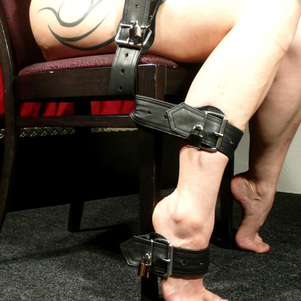 'Skortan'- Leather Strap, Length approx. 75 centimetres