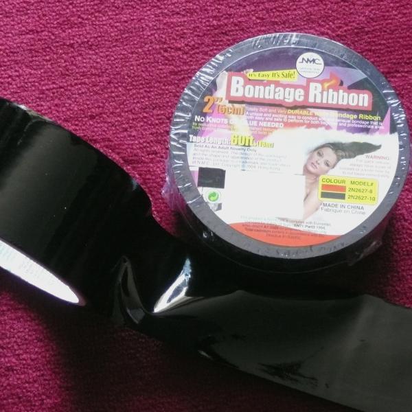Bondage-Tape, schwarz