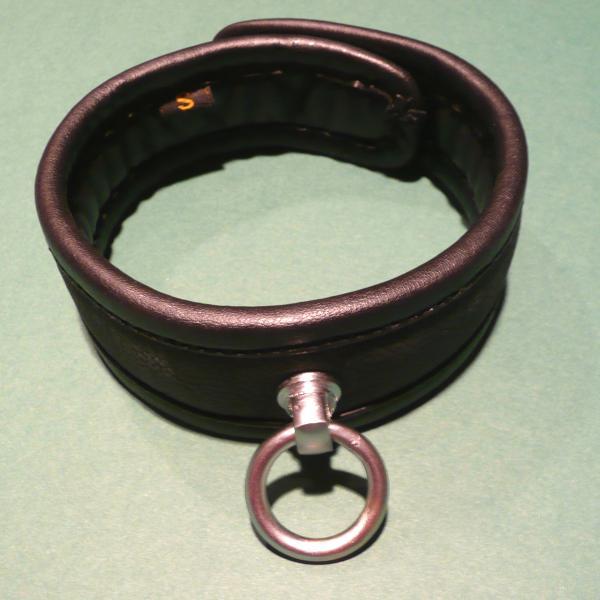 """""""Ihsan"""" - Halsband mit O-Ring, abschließbar"""