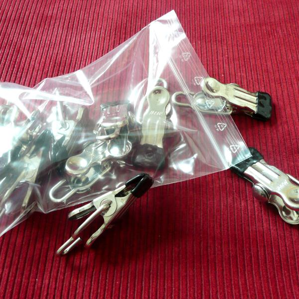 Softe MAWA-Klammern mit Haken, 10er-Pack