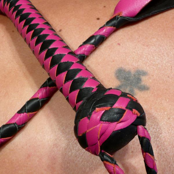 """Estefa"" schwarz/pink"