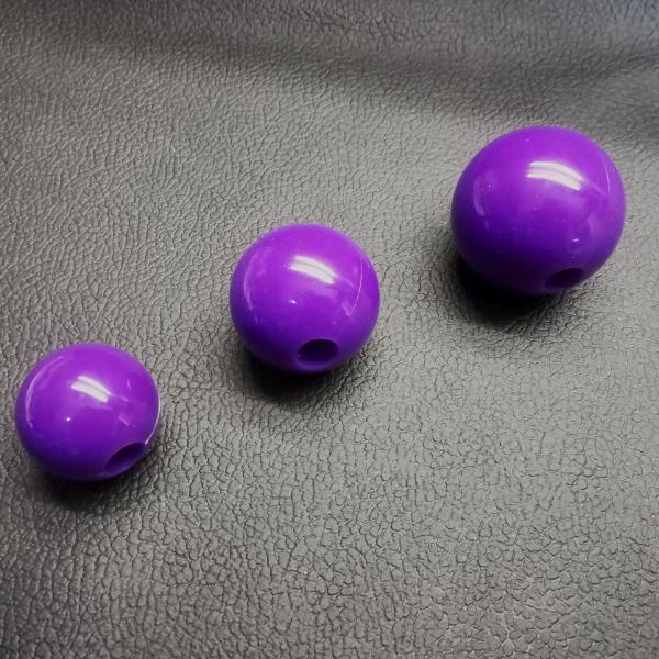 Silikonball einzeln, lila